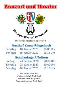 Konzert & Theater @ Schulhaus Affoltern i.E. | Affoltern im Emmental | Bern | Schweiz