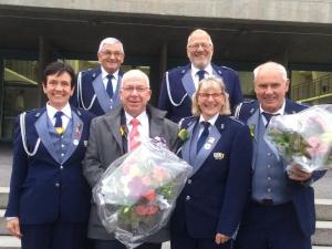 Veteranen  an der Delegiertenversammlung BKMV in Burgdorf 2018